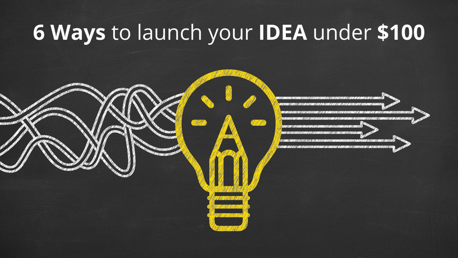 launch your Invention IDEA for under $100