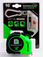 QuickDraw Metal-MARK 16'- Marking Tape Measure-Contractor Grade (Green)