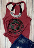 Mom Life Casual Tank Top