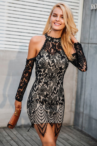 Sexy One Shoulder Bodycon Party Dress