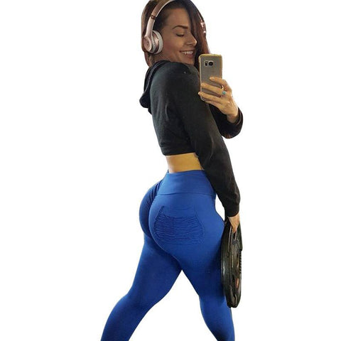 Sexy High Waist Push Up Fitness Leggings / Workout Candy