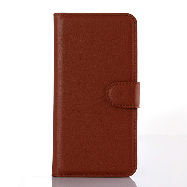 Leather Wallet Case book For iphones all colors