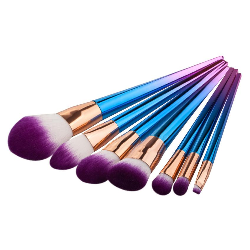 Great Quality 7PCS Cosmetic Makeup Brush Eyeshadow Brush Set