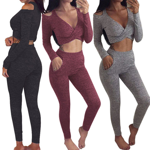Braided Cutout High Waisted Leggings