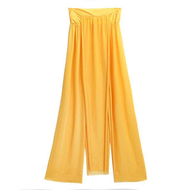 Sexy Maxi skirt  swimsuit cover up