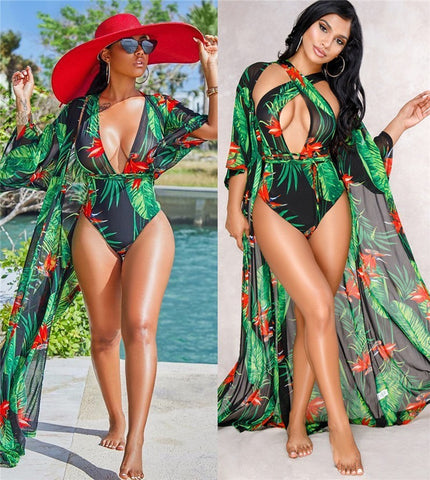 Royal Bandage 2 piece Print Bathing suits