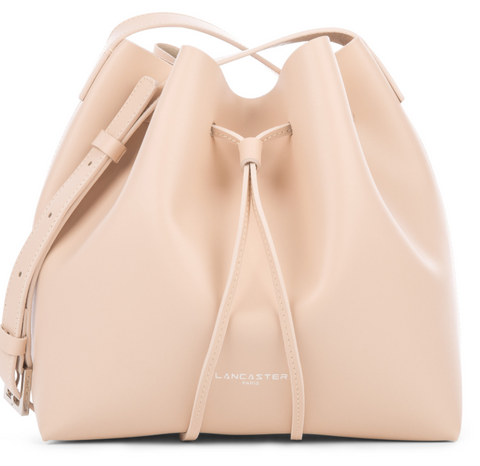 PUR SMOOTH - SMALL BUCKET BAG LIGHT NUDE