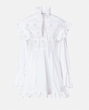 Philosophy di Lorenzo Serafini - Poplin Mini Dress with Frills