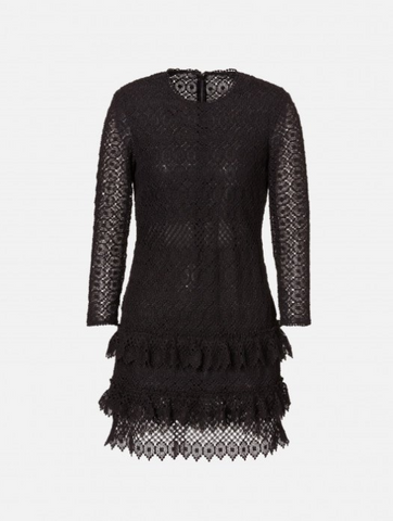 Philosophy di Lorenzo Serafini - Macramé Dress with Flounces