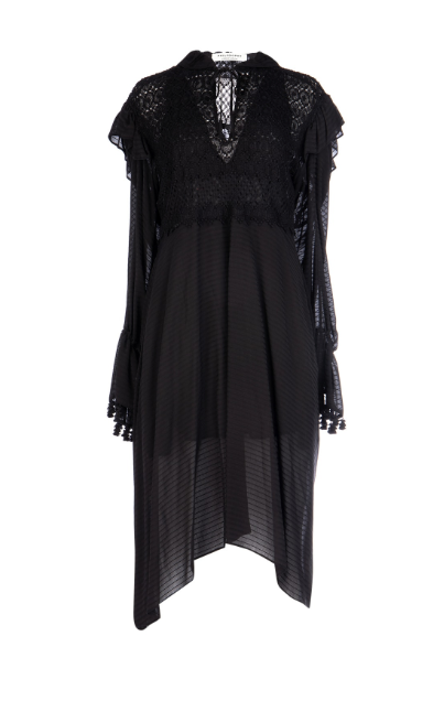 PHILOSOPHY DI LORENZO SERAFINI - Black viscose dress