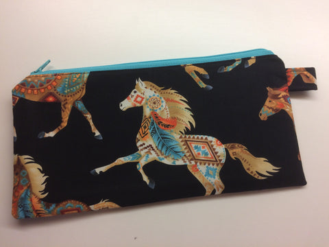 Bags - Painted Ponies Pencil Case