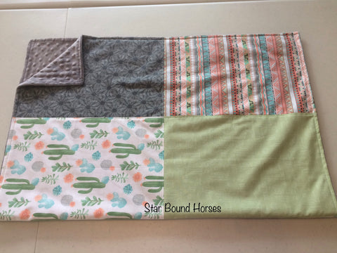 Baby Blanket - Southern Cactus