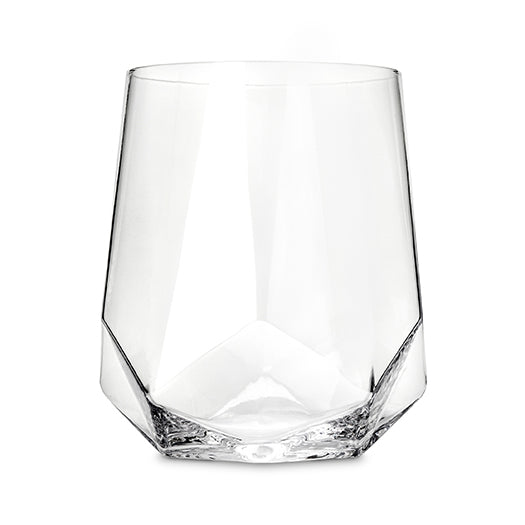 Custom engraved crystal wine glass