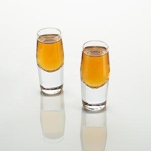 crystal shot glass engraved glass