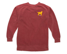 Yellow Dog Nantucket Collegiate Sweatshirt Nantucket Red