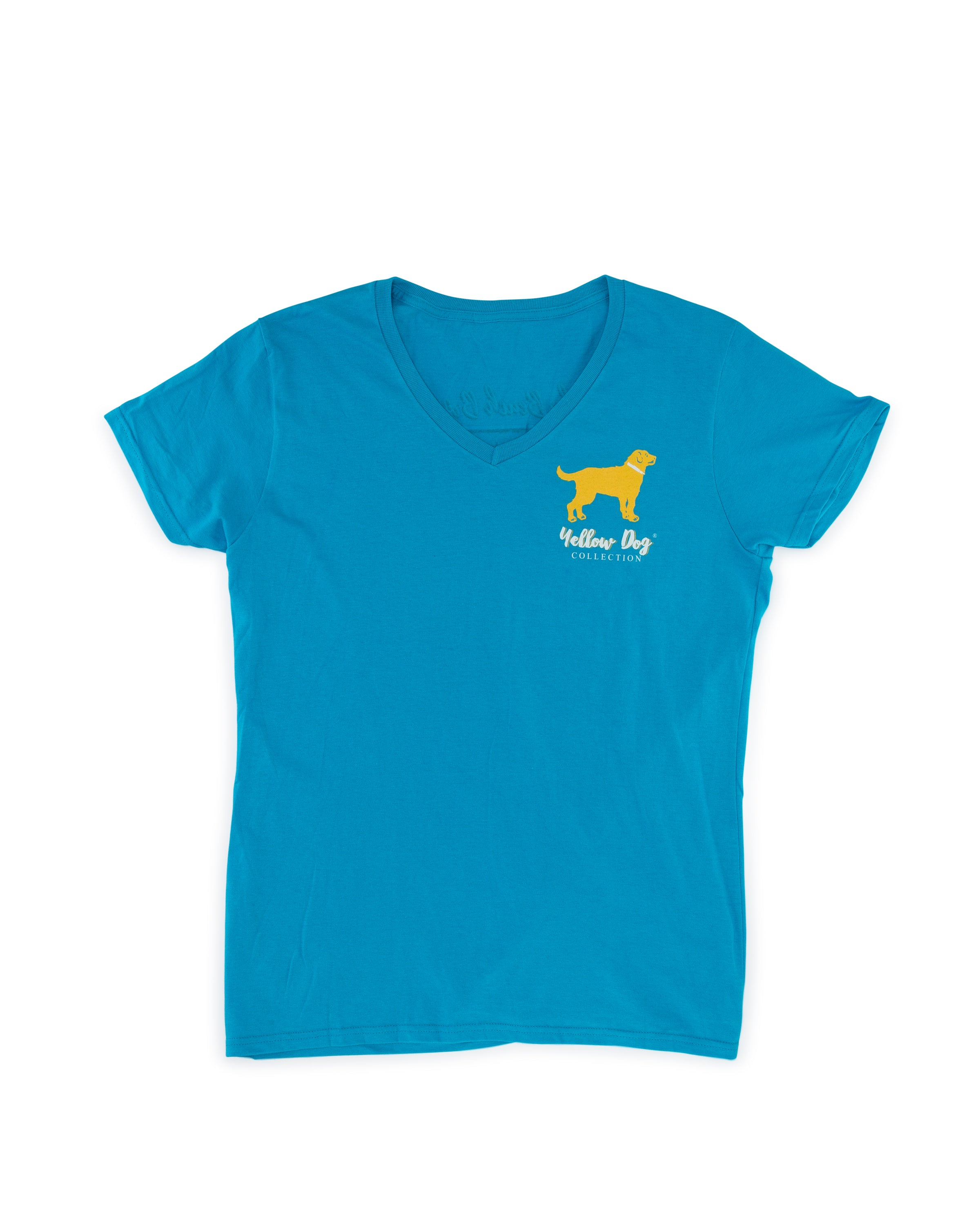1fbd80c5db9 Short Sleeve t-shirt Yellow Dog Collection  Good Times Tan Lines