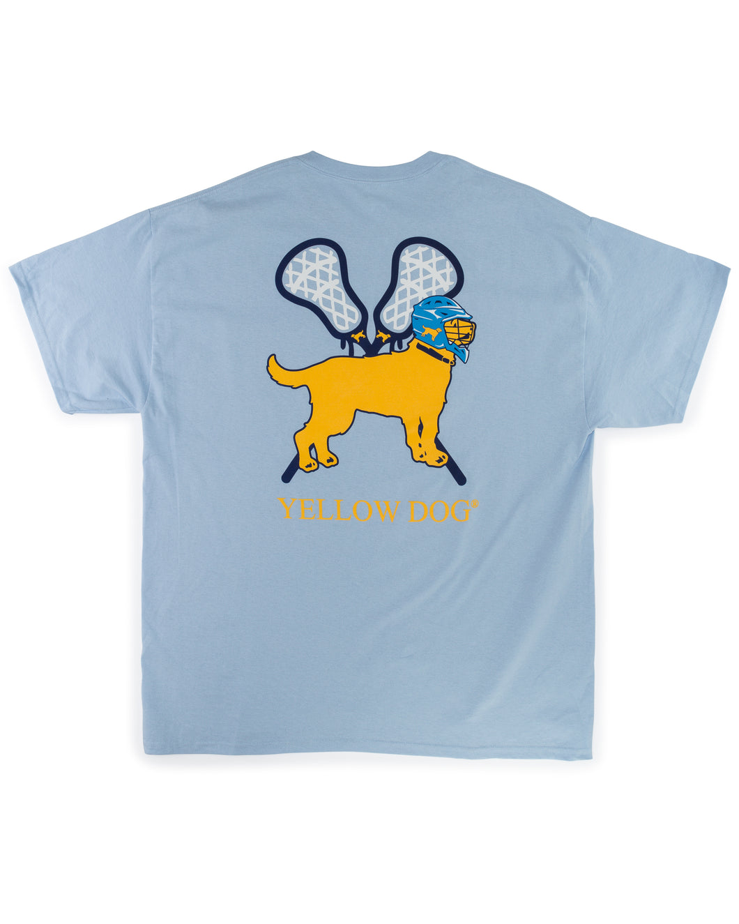 Yellow Dog Short Sleeve Lacrosse T-shirt North Carolina Blue