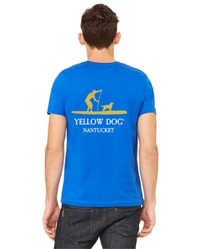 Yellow Dog Nantucket SUP Stand Up Paddle board t-shirt