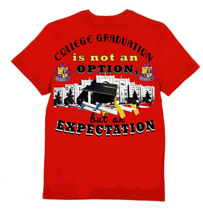 College Graduation is not an OPTION T-shirt