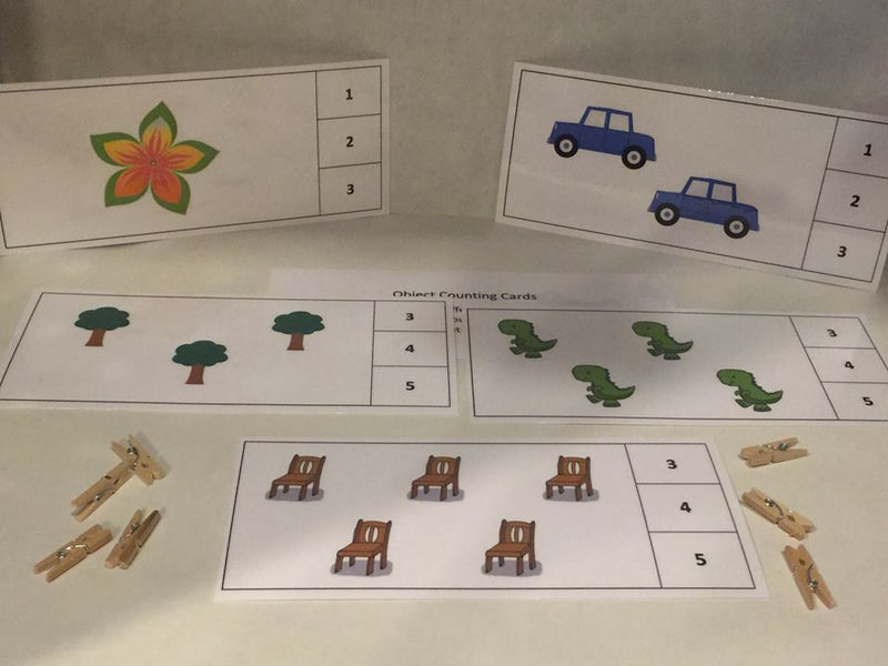 Object Counting Cards
