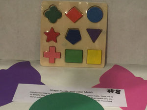Shape Puzzle and Color Match
