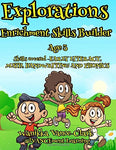 Exploration Enrichment Skills Builder 3 Years old (Volume 3)