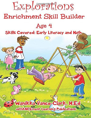 Explorations Enrichment Skills Builder age 4 (Volume 4)