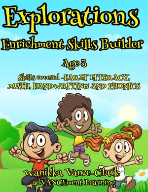 Explorations  Enrichment Skill Builder Age 3 Download