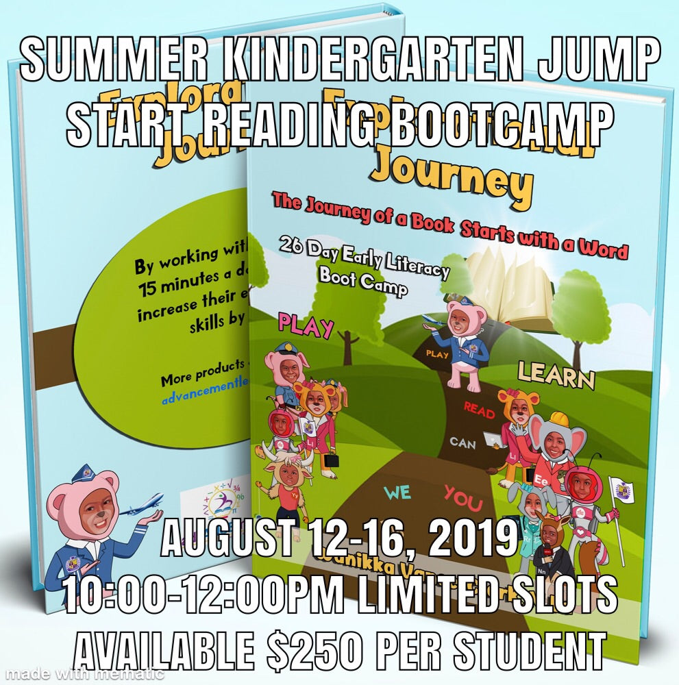 Early Literacy Jump Start Boot Camp