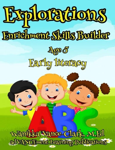 Explorations Enrichment Skill Builder Early Literacy age 5