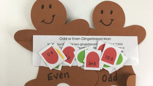 Odd or Even Gingerbread Man