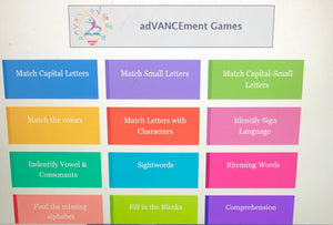 Early Literacy LEVEL UP Games