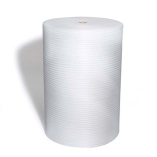 "Pratt Perforated Foam Roll, PAF1254P12,  550' Length x 48"" Width, 1/8"" Thick, White"
