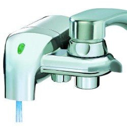 (Package Of 7) Waterpik InstaPure F-8C Chrome Faucet Mount Water Filter System