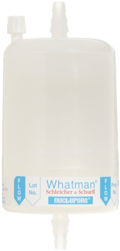Whatman 2707NS Polycap AS 75 Nylon Membrane Capsule Filter with SB Inlet and Outlet, 60 psi Maximum Pressure, 0.45 Micron (Pack of 5)