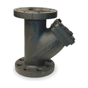 Mueller Steam Specialty - 6 752 IRON BODY FLANGED - Y Type Strainer, Cast Iron Steel, 6 In
