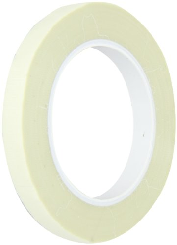 "Maxi 436GMX Glass Cloth Thermal Spray Masking Tape, 7 mil Thick, 36 yds Length, 1/2"" Width, White"