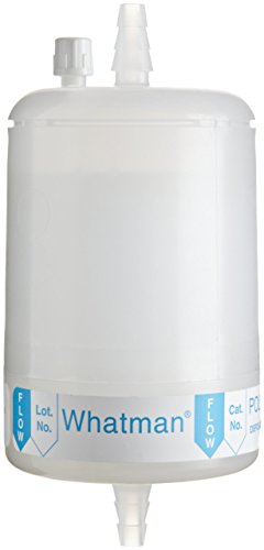 Whatman 6700-7501 Polycap TF 75 PTFE Membrane Capsule Filter with SB Inlet and Outlet, 60 psi Maximum Pressure, 0.1 Micron