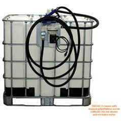 IBC Tank (Tote) Electric Pumping System with Manual Nozzle