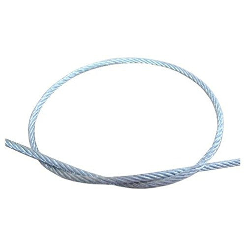 "5/32"" (7X19) Galvanized Wire Cable (Per ft.) - Safe Work Load 560 lbs"