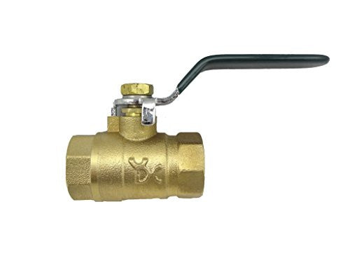 "MISOL 1 pcs of Brass ball valve / 2 way G1/2""(BSP) / DN15"