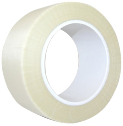 "Maxi 436GMX Glass Cloth Thermal Spray Masking Tape, 7 mil Thick, 36 yds Length,. 1-1/2"" Width, White"