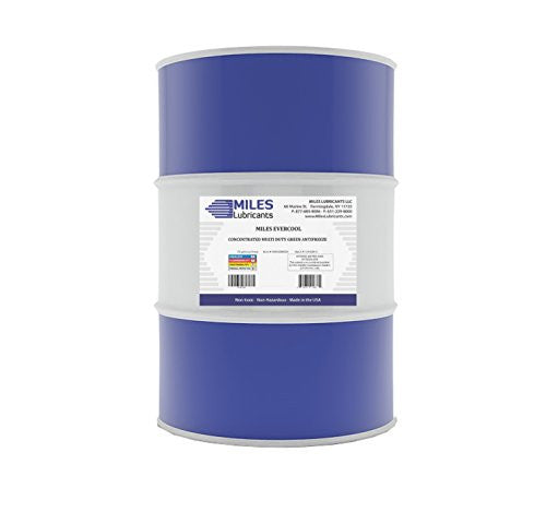 Miles Evercool Concentrated Multi Duty Green Antifreeze 55 Gallon Drum