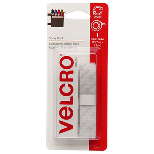 "VELCRO Brand - Sticky Back - 18"" x 3/4"" Tape - White"