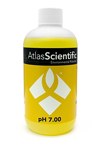 Calibration Solution pH 7.0 - pH Indicator & pH Test Equipment For Hydroponics, Food Processing, Aquariums, Pools, Water - Perfect For Precise pH Meter Calibration Use With pH Probe - 8oz Bottle