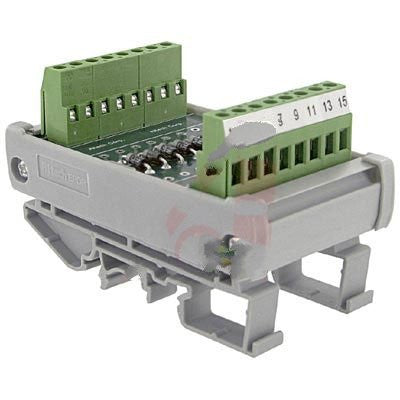 Altech 5702.2 , Interface Module, Diode, DIN Rail, Panel Mount, 8, 22-12 AWG, 250 V