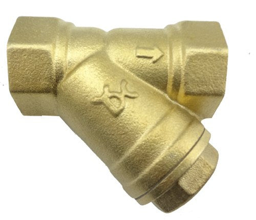"MISOL 10 PCS of G1""(BSP, DN25) Brass Y Type Strainer Valve Connector Fitting"