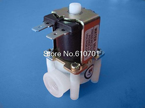 "(1) 1/4""BSPP NO 24VDC Reverse Osmosis RO Solenoid Valve For Water Fluid Supply"