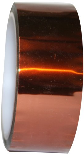 "Maxi 687 Polyamide Masking Tape, 2.5 mil Thick, 36 yds Length, 4"" Width, Amber"