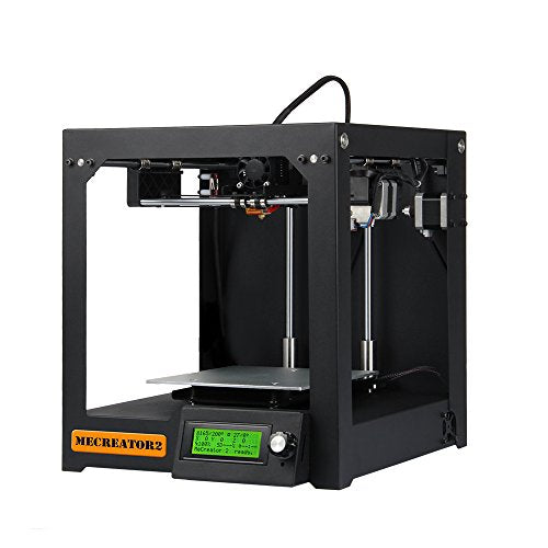 GIANTARM® 3D Printer Mecreator 2 Assembled household and office Desktop 3D printer with Strong Metal Frame Support multi-filament